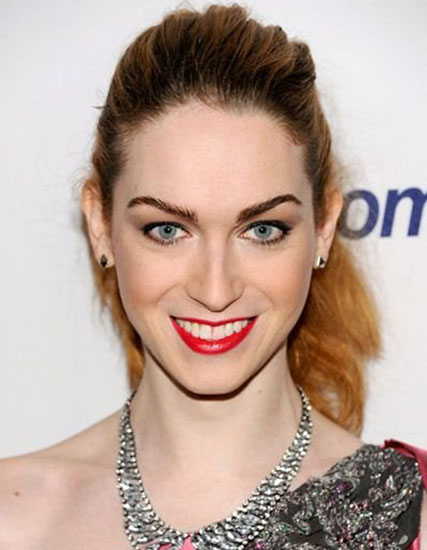 Jamie Clayton's Subtle Bouffant Ponytail Hairstyle - Casual, Evening ...