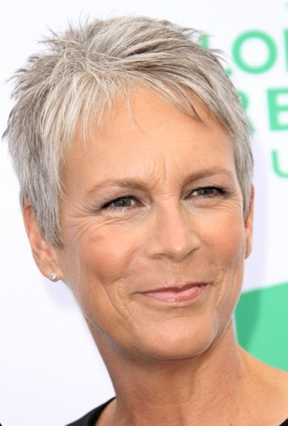 Jamie Lee Curtis Short Spiky Hairstyle Casual Everyday