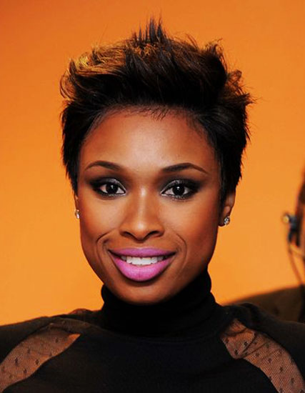 Jennifer Hudson's Punk Pixie Hairstyle
