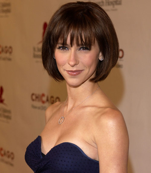 Jennifer Love Hewitt Brunette Bob Casual Everyday