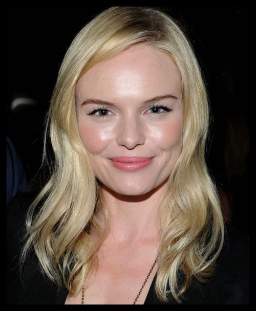 Kate Bosworth's Fine Blonde Hair In Soft Wavy Hairstyle