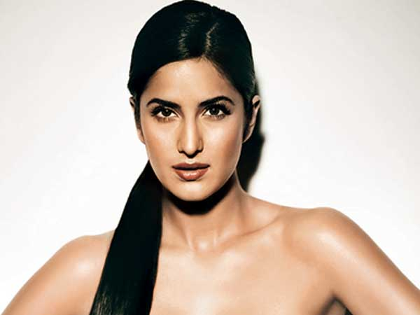 Katrina Kaif's Long Black Hair In Straight Sleek Ponytail