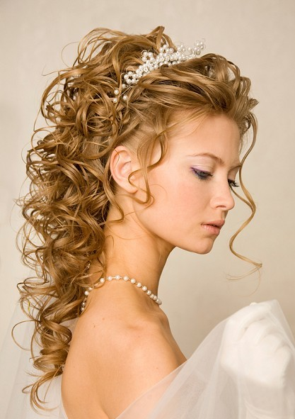 Long Curly Ringlets Hairdo Wedding Formal Careforhair