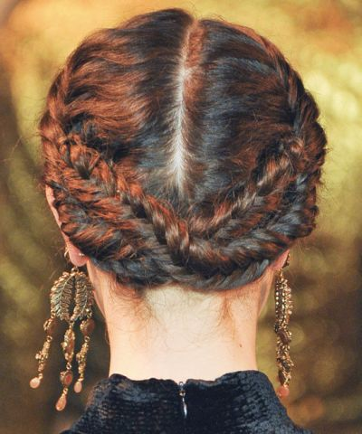 Fishtail Braided Updo Fall Evening Careforhair Co Uk