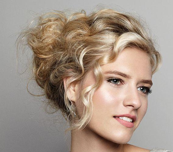 Blonde Hair Wedding Hair Style: Prom, Wedding, Formal