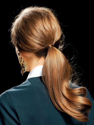 Bouncy Low Ponytail Casual Fall Everyday Careforhair