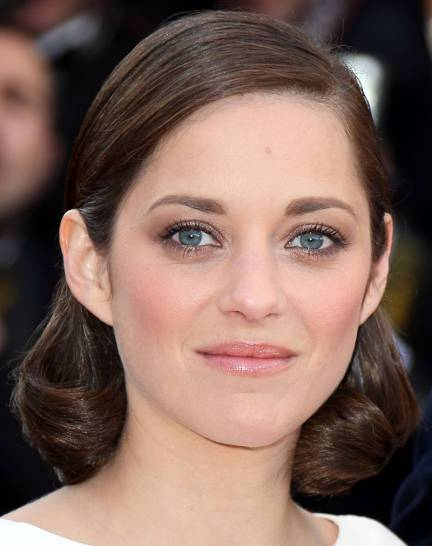 Marion Cotillard Medium Brown Prim And Proper Chic Hairstyle