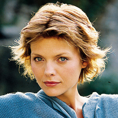 Michelle Pfeiffer's Blonde Hair In Short Cropped Choppy Hairstyle