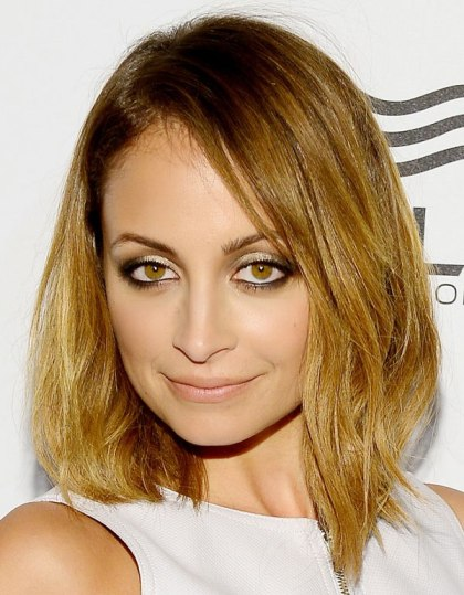 Nicole Richie's Trendy Graduated Bob Has Soft Invisible Layers.