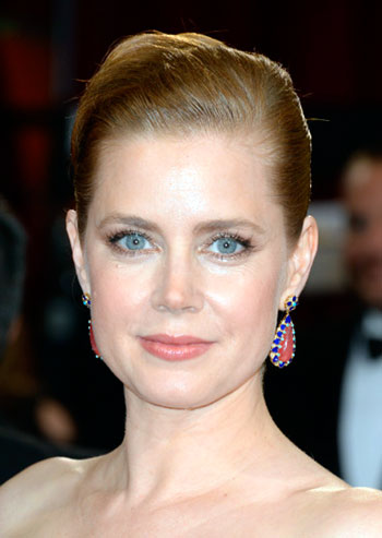 Amy Adams' Simple Sleek Updo at the 2014 Oscars