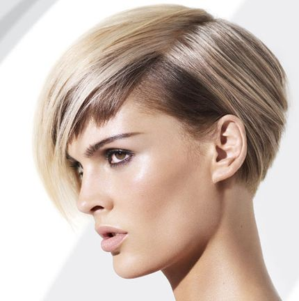 Phenomenal Funky Blonde Wedge Hairstyle Casual Careforhair Co Uk Hairstyles For Men Maxibearus